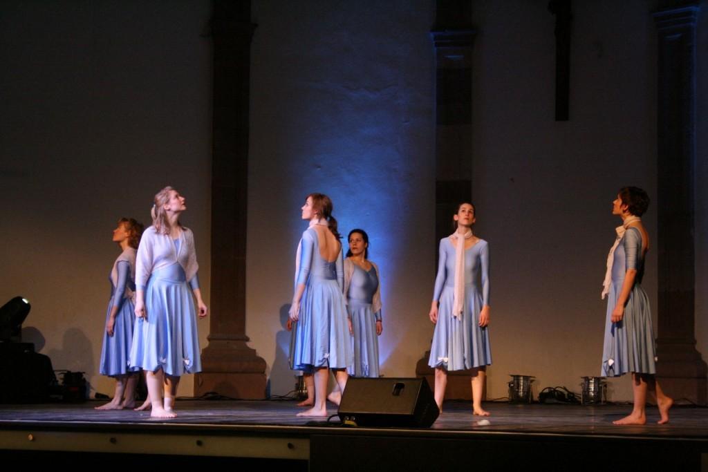 """Das Weihnachtsshowing """"Klingelingeling"""" in der Abtei St. Maximin 2008"""
