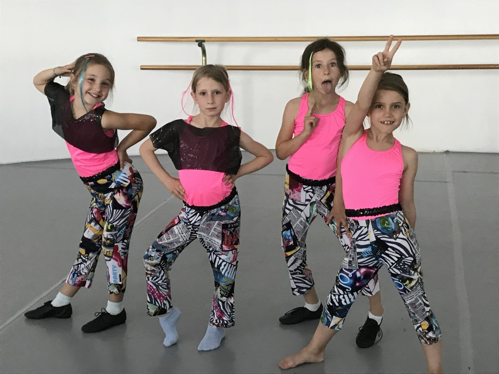 Jazz und Streetdance, Kindertanz